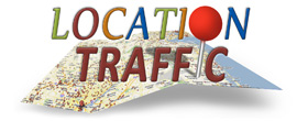 Logo: Location Traffic is an Internet Marketing Company providing Local SEO Services and Business Consulting for Sales Process Improvement